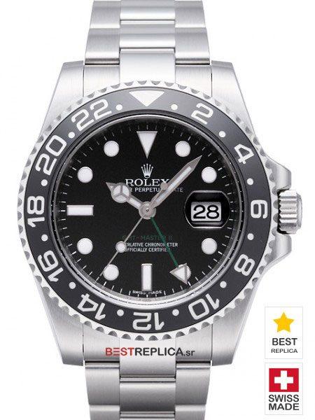 Replica Rolex GMT-Master II SS Blue/Black Ceramic Bezel ... | 450 x 600 jpeg 50kB