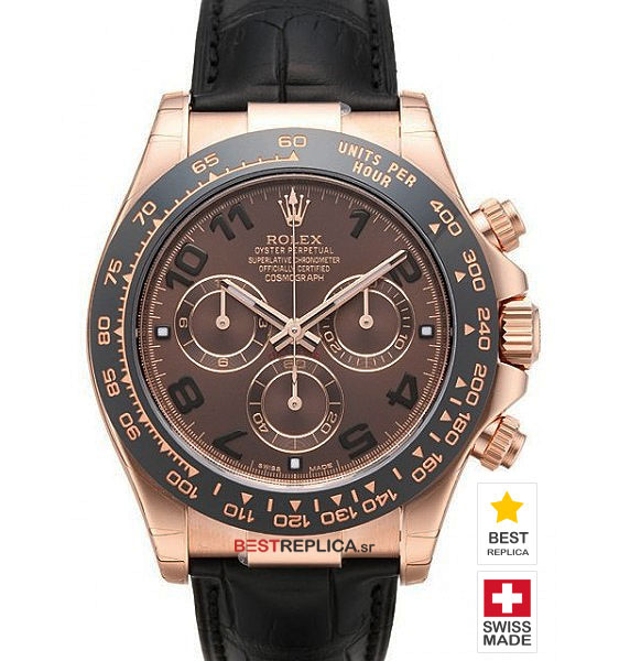 52a1a38d4ad Rolex Cosmograph Daytona Chocolate Dial Everose Gold
