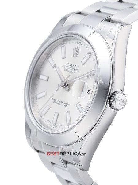 Rolex Datejust 36mm 18k 2 Tone White Dial Roman Markers
