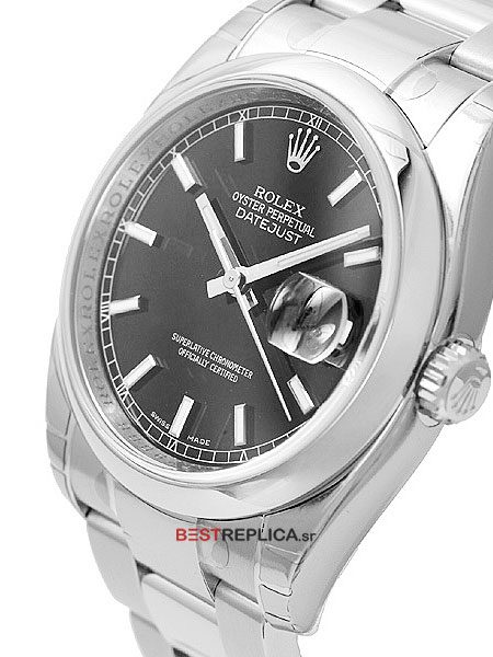 Rolex-Datejust-36mm-SS-Black-Dial-side