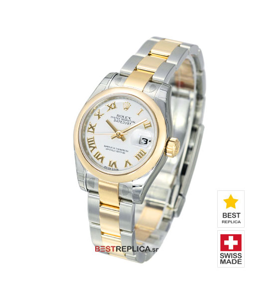 index bracelet two white bezel product datejust dial jubilee mens watch tone rolex fluted