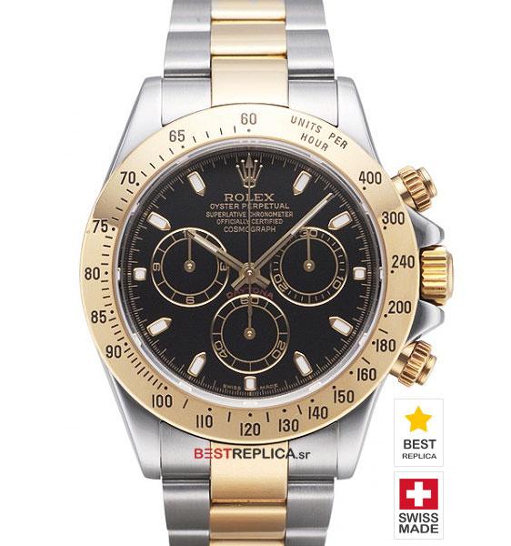 Rolex Cosmograph Daytona 18k 2-tone Black Dial  e4d91a799e8