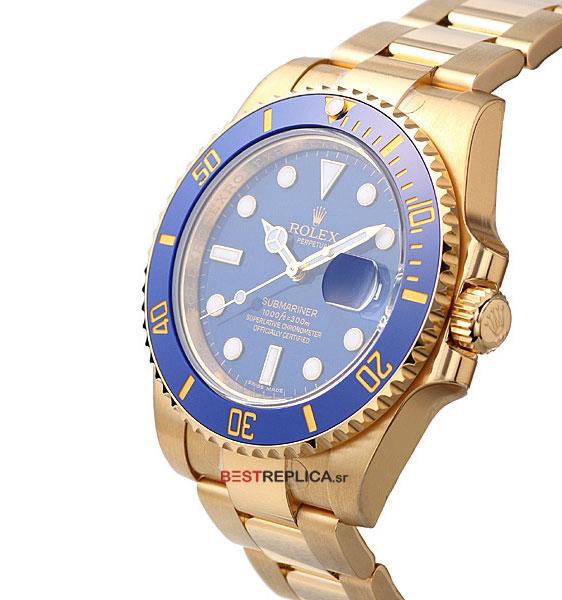 Gold Submariner Rolex