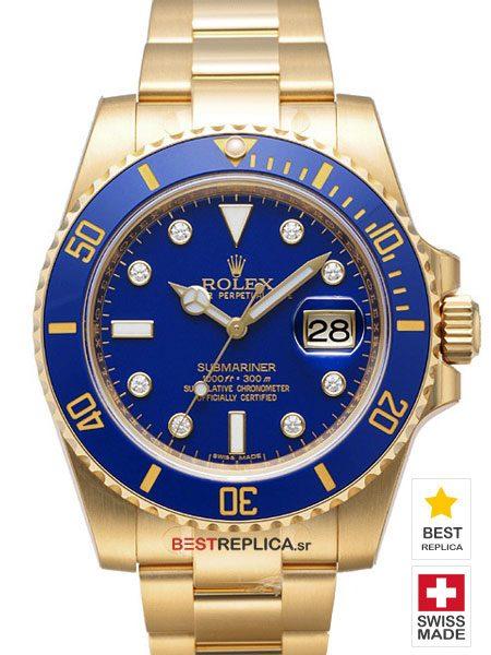 Rolex-Submariner-18k-gold-blue-Ceramic-diamonds