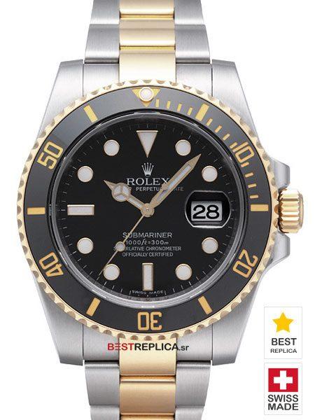 Rolex-Submariner-Black-Ceramic-2tone-Date