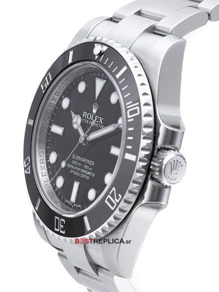 Rolex-Submariner-Black-SS-side