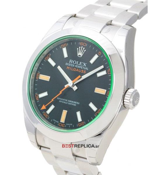 Rolex Milgauss Black Dial Anniversary Model