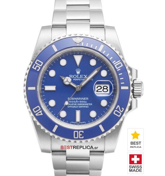 Rolex Submariner Blue Gold Replica