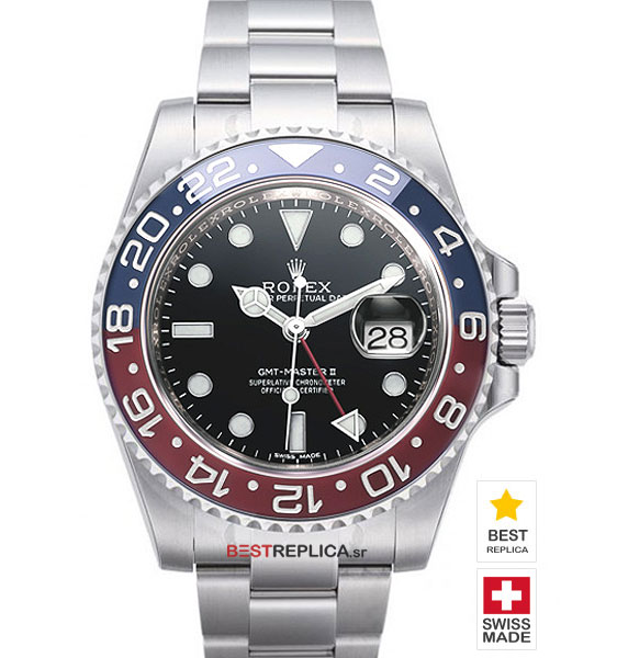 Rolex Submariner Red And Blue