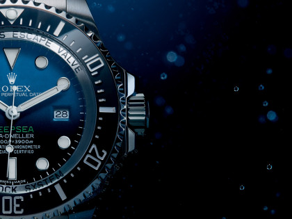The New Sea-Dweller Deepsea D-Blue Dial