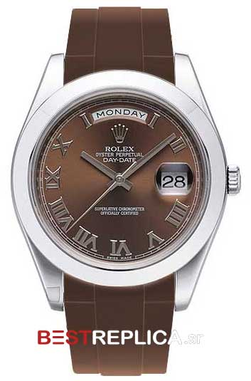 Rubber-B-Rolex-Band-Brown