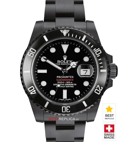Black Submariner Rolex