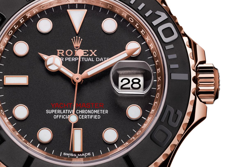 Rolex Yacht-Master Everose 116655 Oysterflex rubber 5